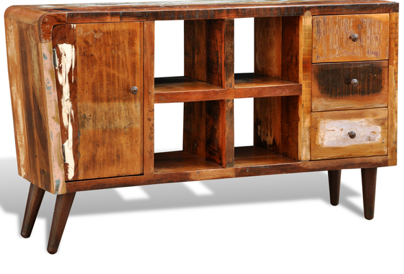 arredo casa +armadietto +legno riciclato +porta TV +sandroshop