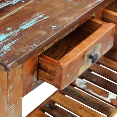 tavolo riciclato +legno +recuper +arredo +sandro shop