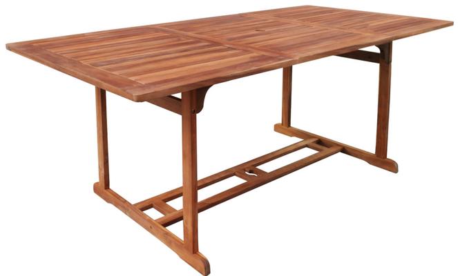 tavolo +legno +acacia +arredo +giardino