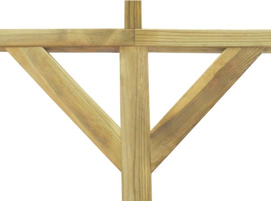 pergola +legno +impregnato