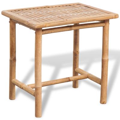 tavolo sedie bambù +mobili +giardino +arredo