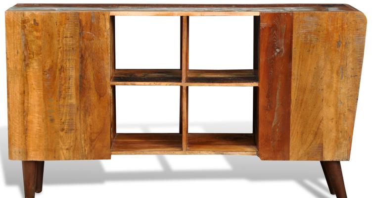 armadietto +legno riciclato +porta TV +sandroshop