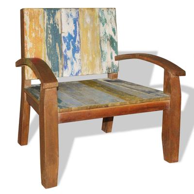 legno riciclato +poltrona +recupero +vintage +sandro online shopping