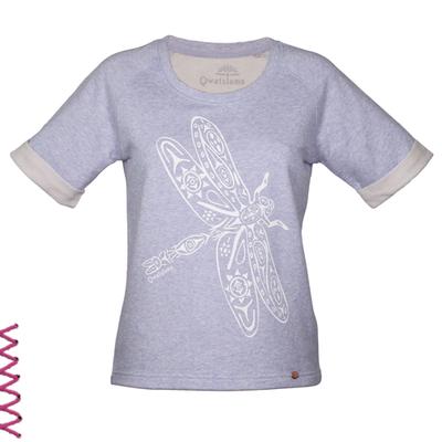 """Warm und kuschelig und soooo weich: Sweatshirt """"Libelle Wandel""""..."""