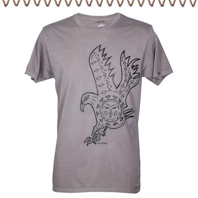 """Das ist """"Adler Aufstieg"""", unser Rundhalsshirt für Männer mit Herz..."""