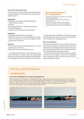 Die Welt auf den Kopf gestellt, Handstand lernen, Bild 2