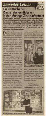 Neue Stadtzeitung .- 26.4.1999
