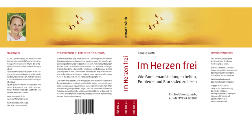 »Im Herzen frei« von Renate Wirth – Satz & Gestaltung im Juni 2020