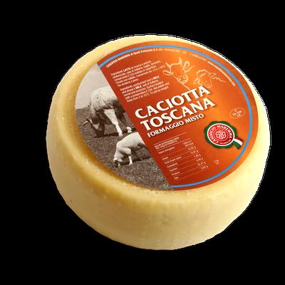 Caciotta Toscana - mixed cheese