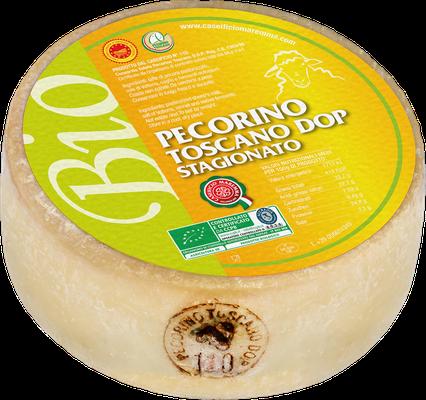 Pecorino Toscano DOP biologico stagionato