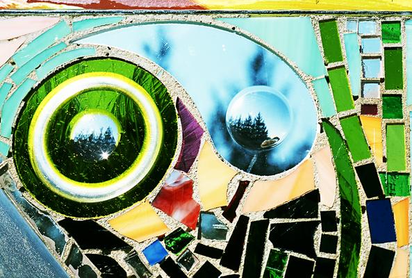 Glaskunst Glasmosaik