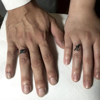 ペア,onepoint,ワンポイント,tattoo,タトゥー,埼玉,富士見市,ふじみ野,TAKUYA