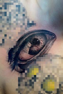目,eye,real,タトゥー,tattoo,埼玉,さいたま市,大宮,浦和,刺青,ジェイドタトゥー,TAKUYA