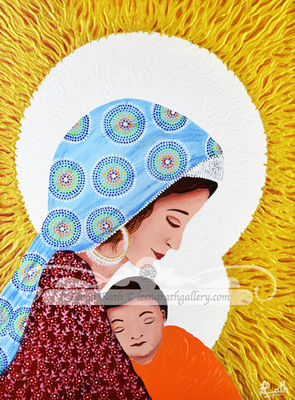 Holy Mother and Child (August)