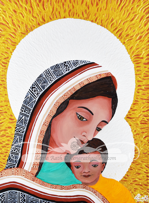 Holy Mother and Child (June)