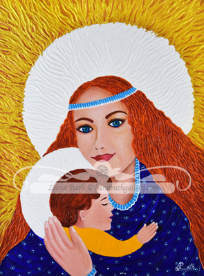 Holy Mother and Child (May)
