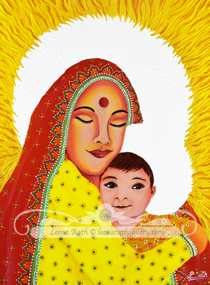 Holy Mother and Child (March)