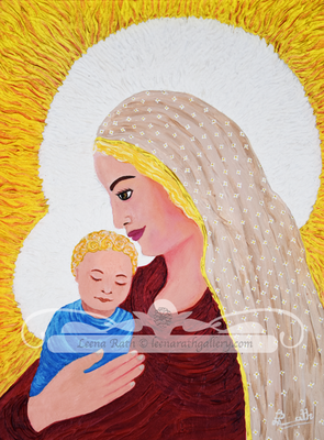 Holy Mother and Child (April)