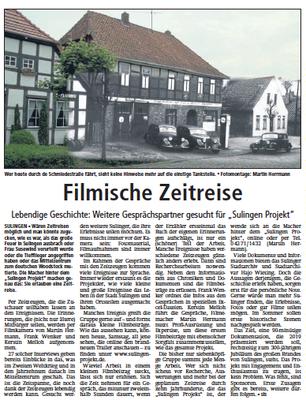 01. April 2017 | Sulinger Kreiszeitung