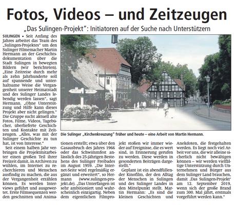 08.Oktober 2016 | Sulinger Kreiszeitung