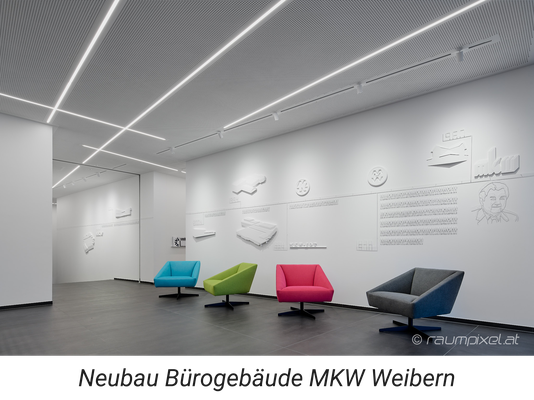 Neubau Bürogebäude MKW Weibern  - Bezirk Grieskirchen Oberösterreich