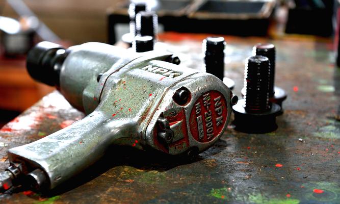 NPK, Pneumatic, Grinder, Impact Wrench