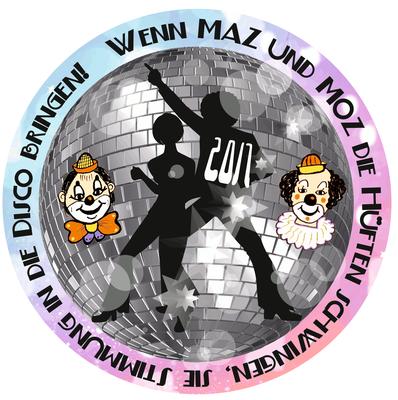 2017: Wenn MAZ und MOZ die Hüften schwingen, sie Stimmung in die Disco bringen!