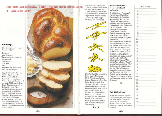 aus dem legendären butterbuch, der zopf war bei meinen kindern enorm beliebt