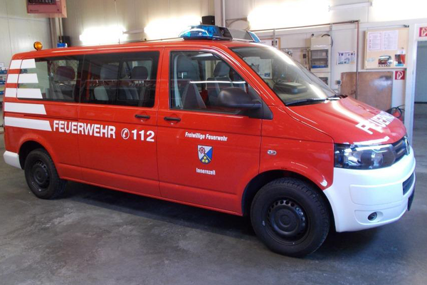 Fahrzeugbeschriftung für Freiwillige Feuerwehr Innerzell