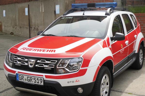 Fahrzeugbeschriftung für die Berufsfeuerwehr Görlitz