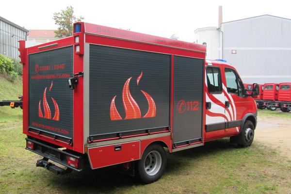 Fahrzeugbeschriftung Brandschutztechnik Görlitz