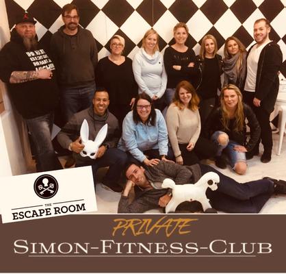 Simon Fitness Escape Room Basel