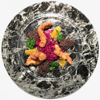 Salat (Fleischvariante)