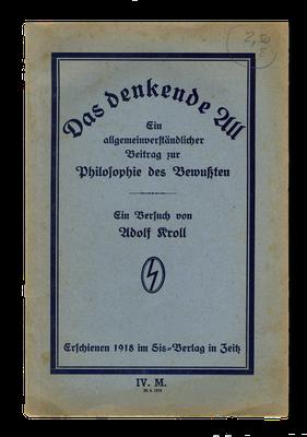 Broschüre des völkischen Sis-Verlags, 1918