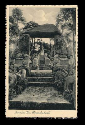 "Sogenanntes ""Ulanen-Denkmal"", Demmin, 1924"
