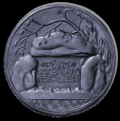 Medaille zum Gedenken an die Gefallenen, Beginn der 1920er Jahre