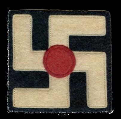 Sonderabzeichen des 351. Feldartillerieregiments der US-Armee, 1918