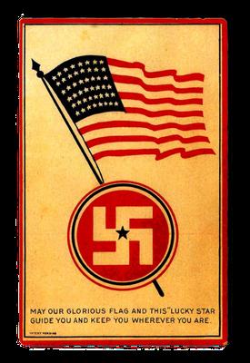 US-Postkarte, 1915