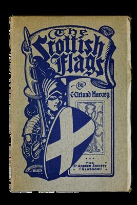 Broschüre zur Geschichte der schottischen Flaggen, 1908
