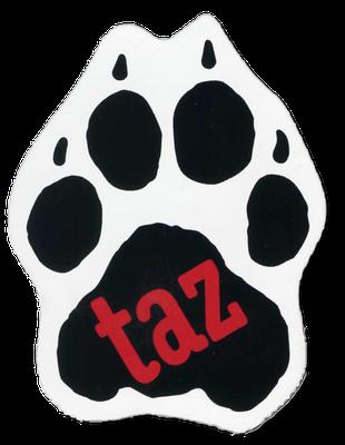 Adaption der Panther-Tatze als Logo der taz - tageszeitung
