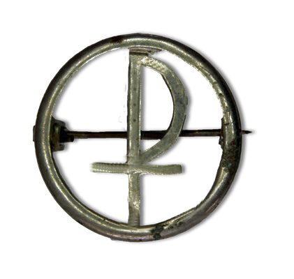 Abzeichennadel des katholischen Jungdeutschlandbundes, 1920er Jahre