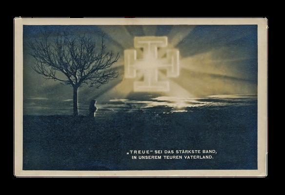 Propagandakarte der Vaterländischen Front