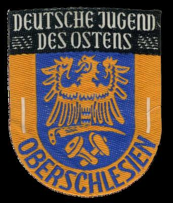 Ärmelabzeichen der Oberschlesischen Jugend in der DJO, 1950er Jahre