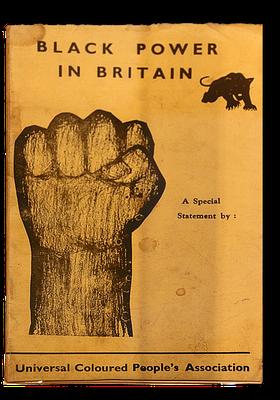 Umschlag einer Zeitschrift des britischen Arms der BPP