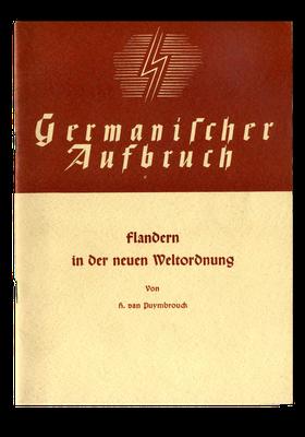 Broschüre der Kollaboration in Flandern, 1942