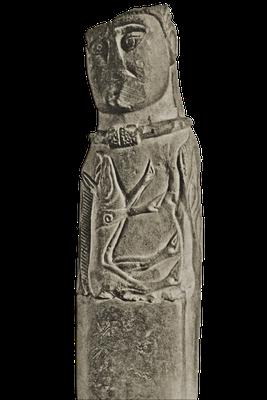 """Sogenannter """"Gott von Euffigneix"""", gallo-römisch, Frankreich, 1. Jahrhundert vor Christus"""