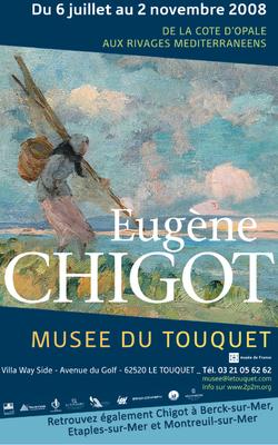 "Affiche ""Eugène Chigot"""