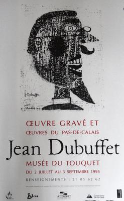 """Affiche """"Dubuffet"""""""