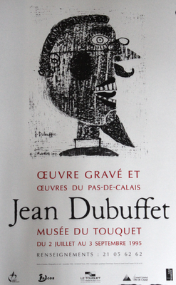 """Affiche """"Jean Dubuffet"""""""