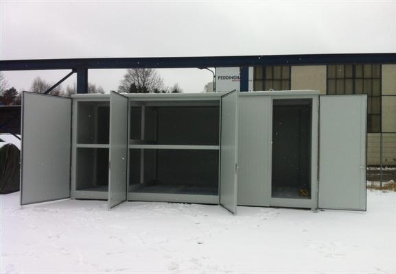 Ammoniaklager (Containerlösung für 6 Fässer)